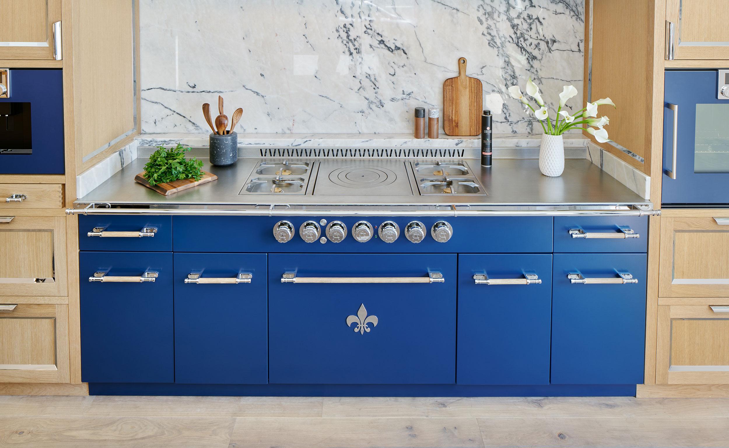 staud blue latelier kitchen