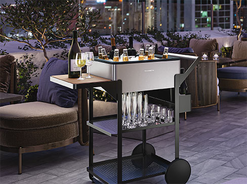 dometic mobar rooftop with stemware