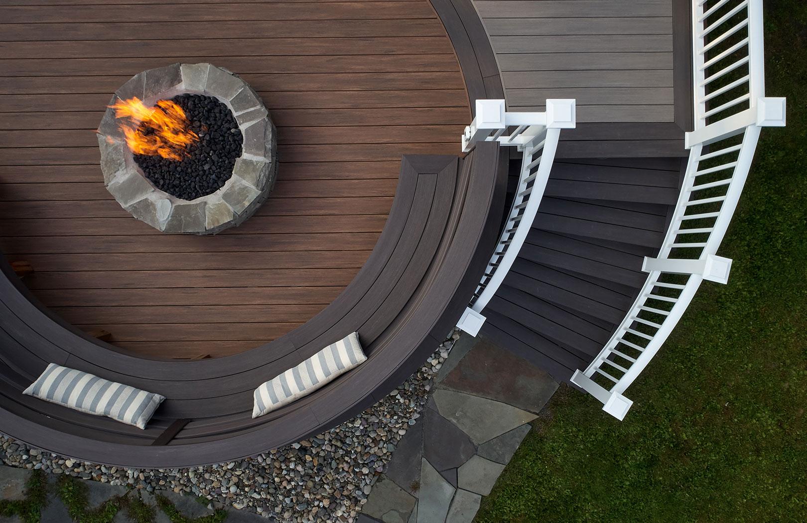 timbertech coastline firepit