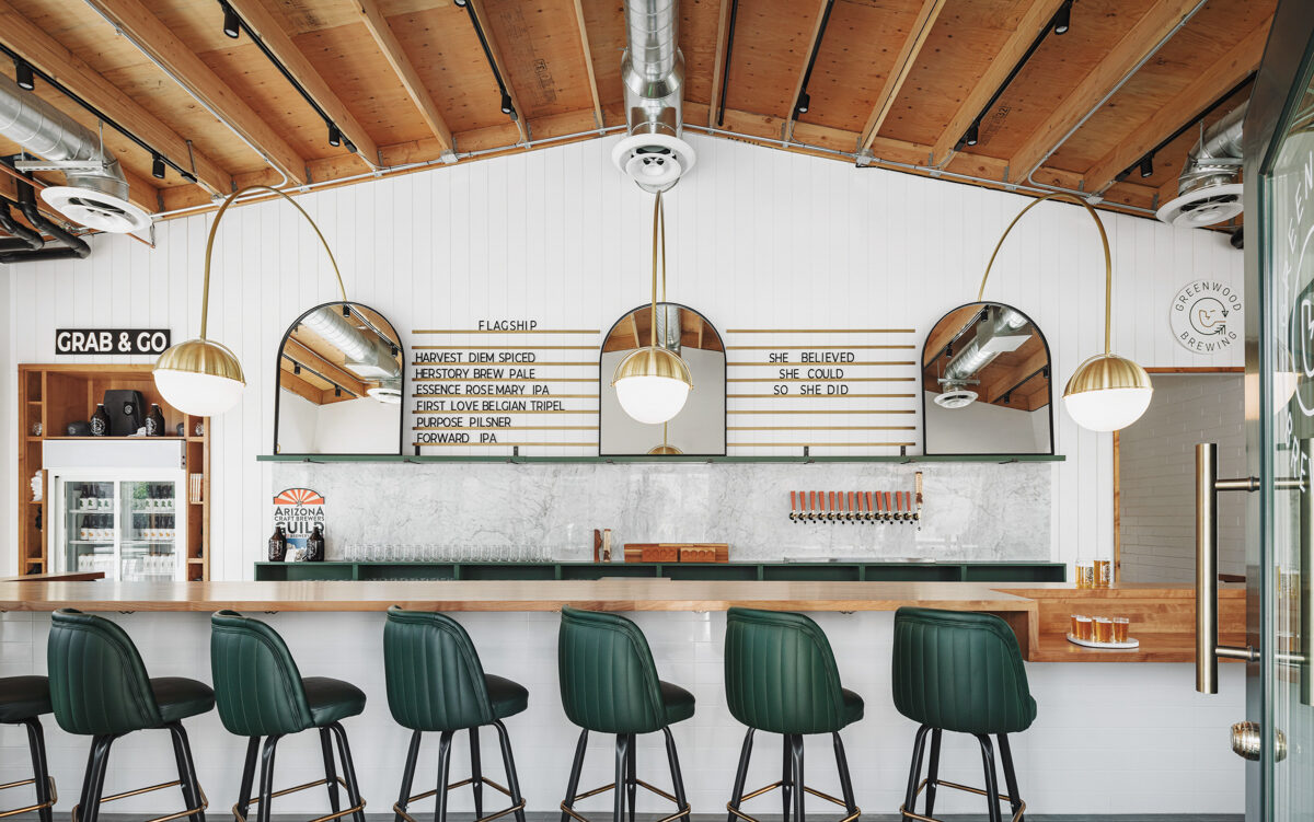 Upbeat Design Is On Tap At This Female-Founded Brewery