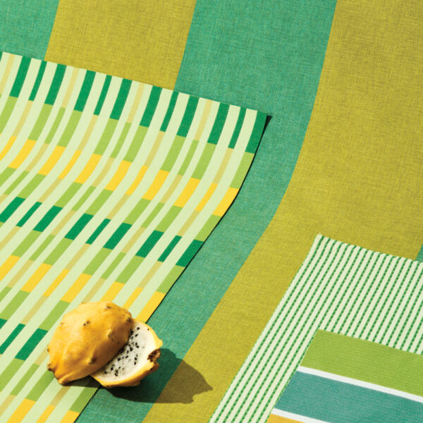 Turn Up The Heat With These Striped Outdoor Fabrics