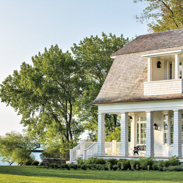 A Lakefront Chicago Home Nods To Maine's Classic Seaside Dwellings