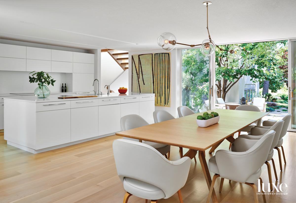 modern organic kitchen wood and...
