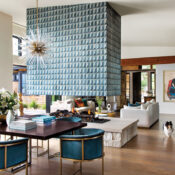 A Bold Colorado Home Shines With A Funky Spin On Cape Cod Charm
