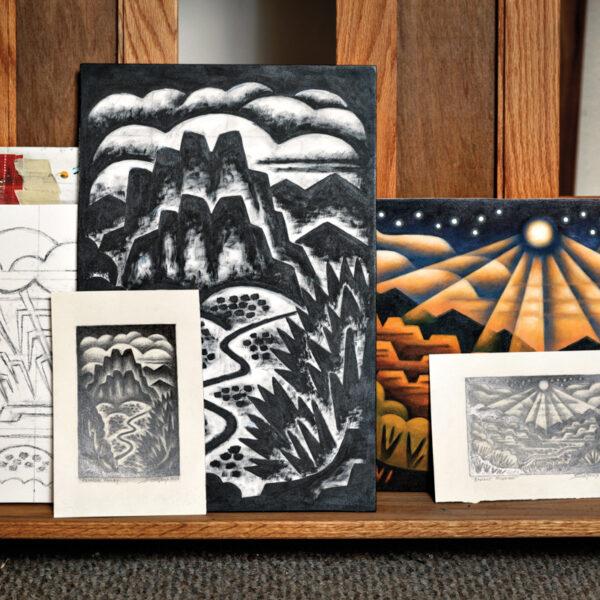 Take In Colorado's Dramatic Views From A Modernist Artist's POV