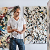 Ripped Paint Canvases Spring Off The Surface Of These 3D Collages