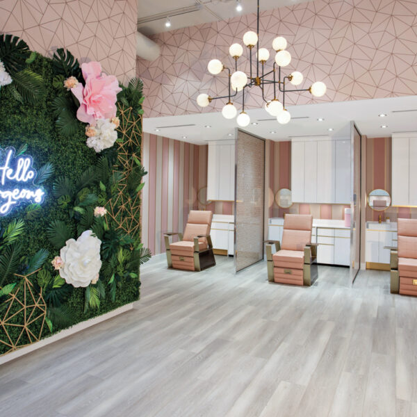 DashBar Salon In Miami Is A Pink-And-Rose Gold Paradise