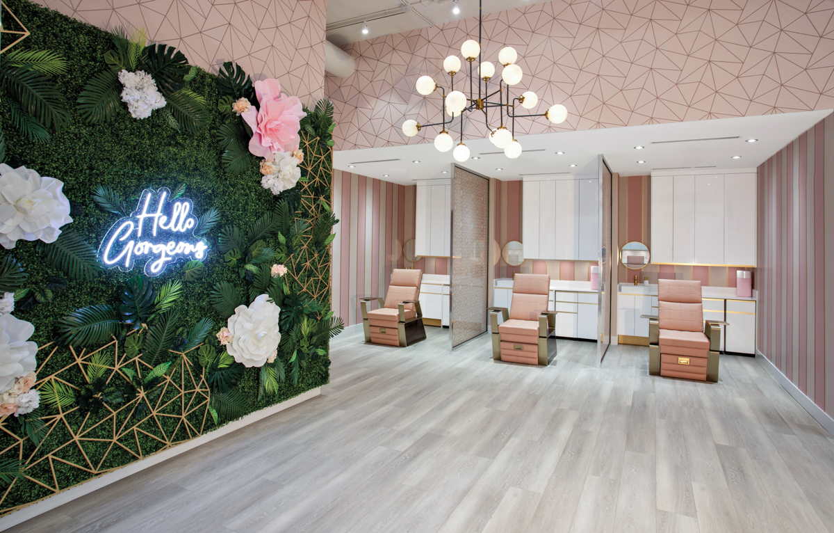 DashBar Salon In Miami Is A Pink-And-Rose Gold Paradise{DashBar Salon In Miami Is A Pink-And-Rose Gold Paradise} – English