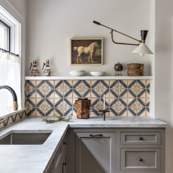 20 Statement Backsplashes That Add A Dose Of Drama To The Kitchen