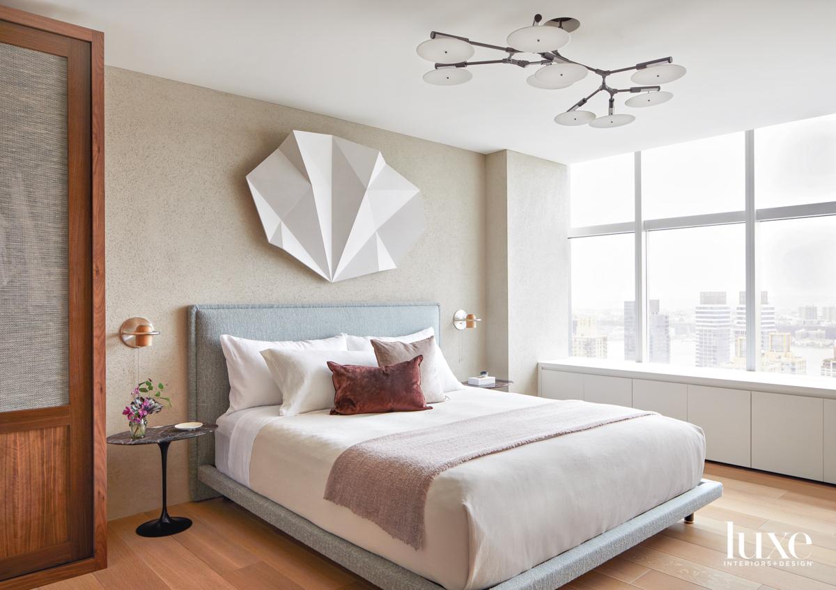 plaster sculpture bedroom