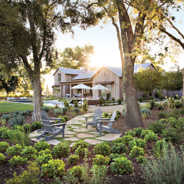 Savor The Details Of This Relaxed Napa Retreat On A Historic Vineyard