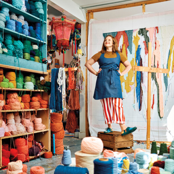 Enter The Colorful World Of This Savannah Fiber Artist + Her Vibrant Works