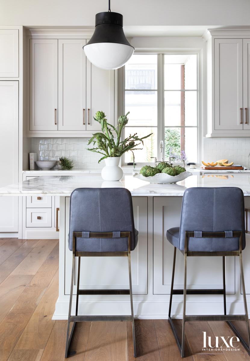 Kitchen featuring backsplash tile from...