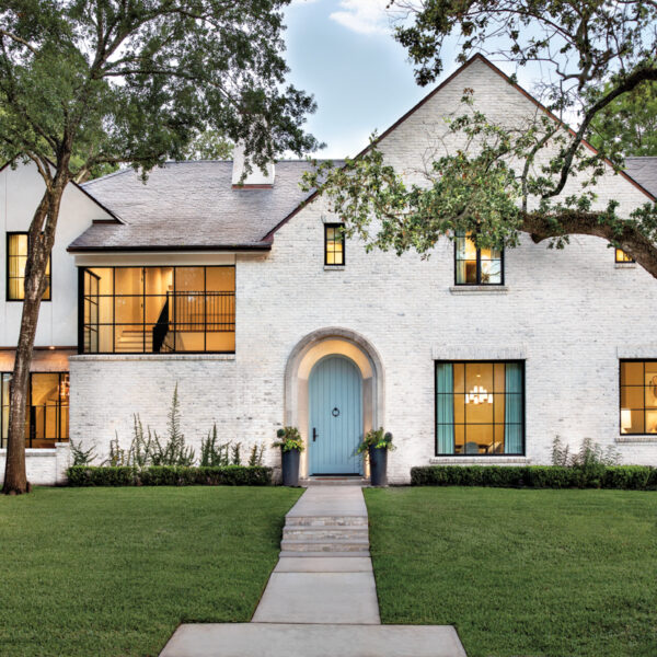 Inside A Houston Home That Mixes Modern Forms With Rustic Finishes