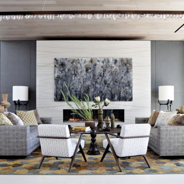 Glamour And Warmth Strike A Perfect Balance In This Open L.A. Home
