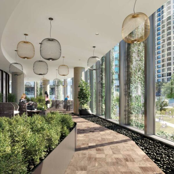 Live Among Nature At This Development In Chicago's Lakeshore East