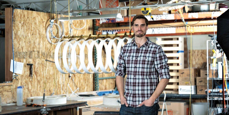 Meet The Former Google Engineer Turning Light Into Art