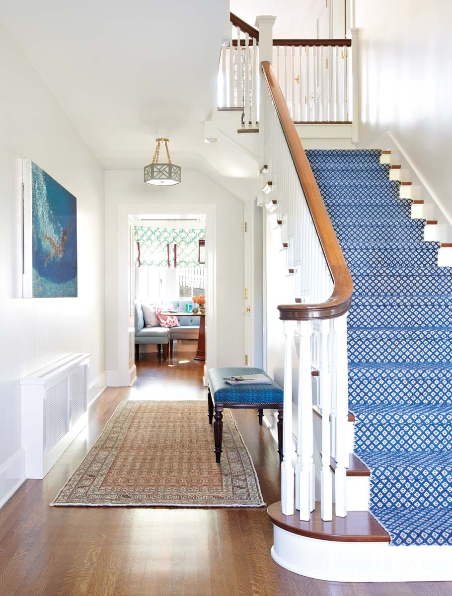 Entry to house with stairway...
