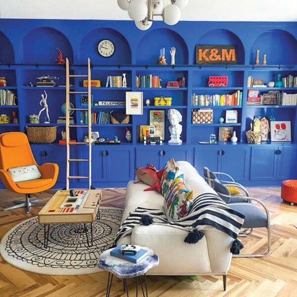 A Charlotte Maximalist Dishes On How To Do Primary Colors Right