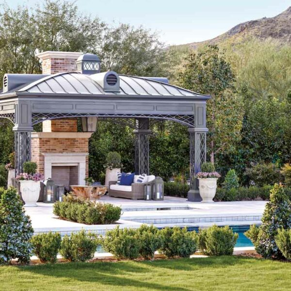 Cheer For The Tailored Look Of This Football Great's Arizona Home