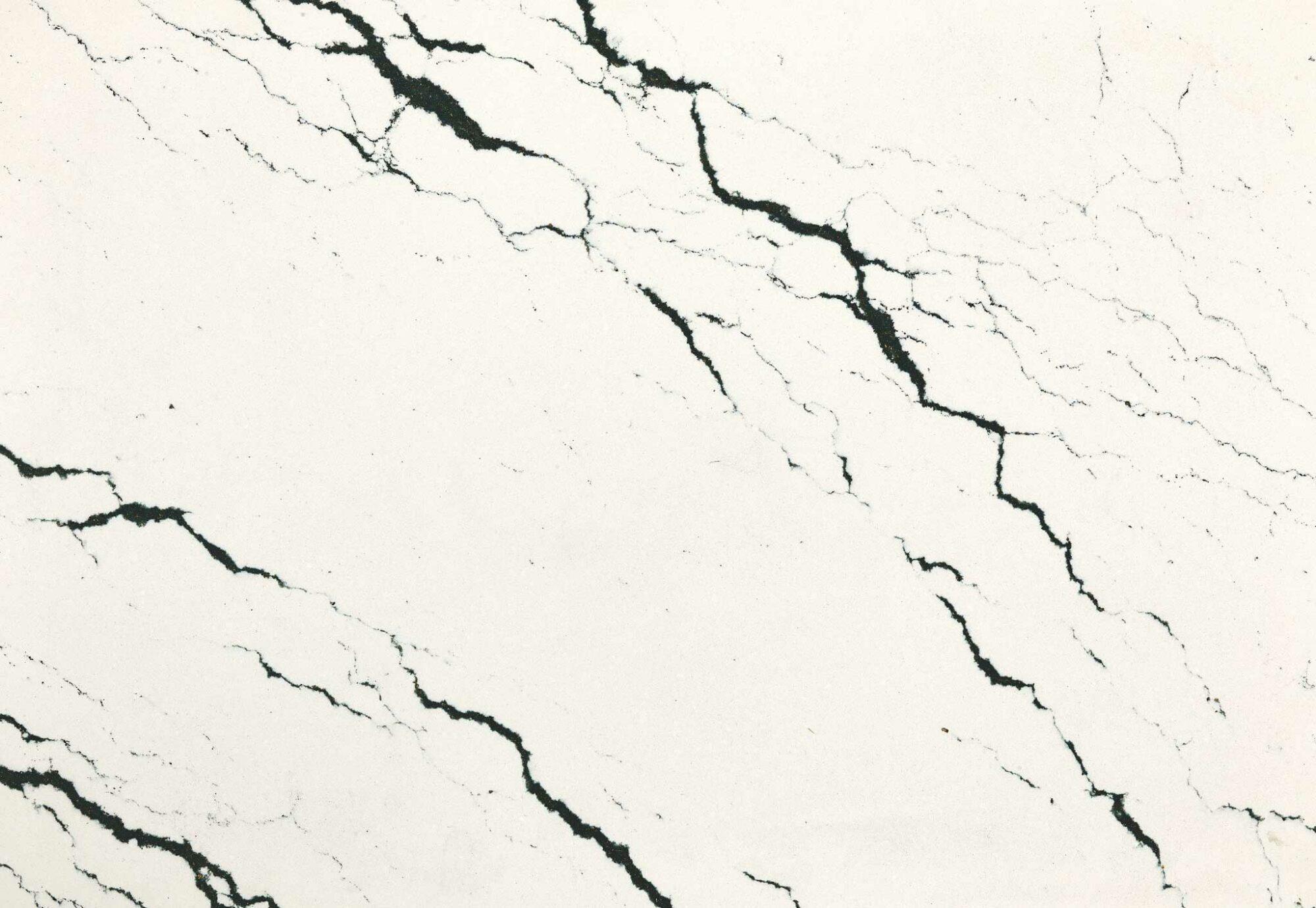 black white vein quartz
