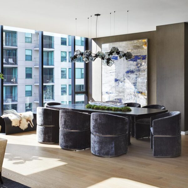 Modern Art And City Views Give A Posh Penthouse Serious Wow Factor