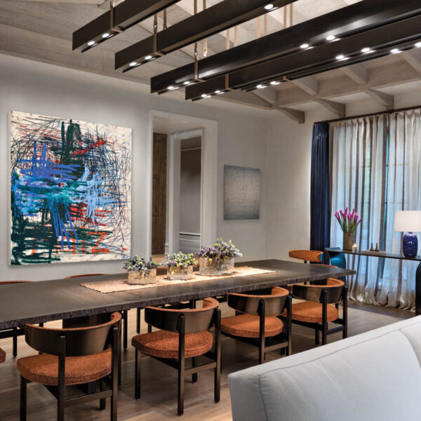 How Fabric Inspired The Look Of This Cosmopolitan Aspen Retreat