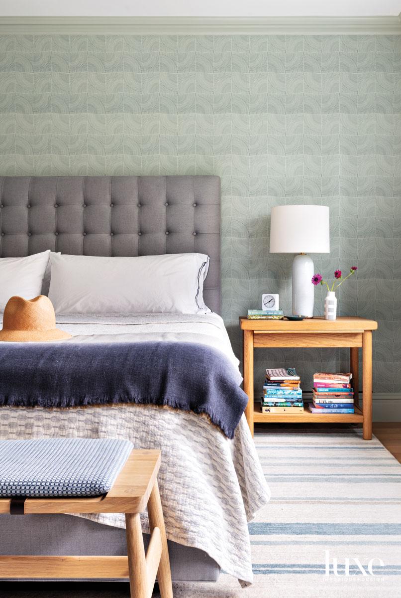 blue brooklyn bedroom