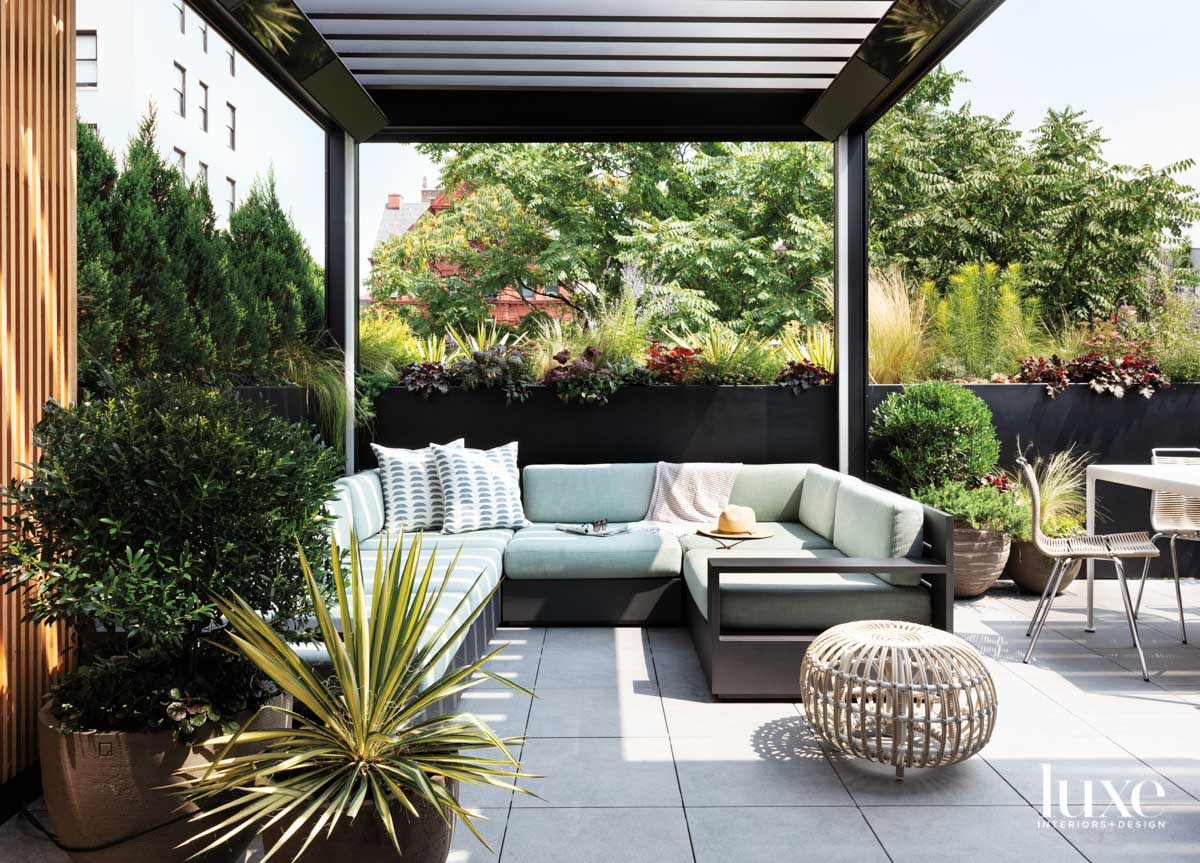 rooftop living room