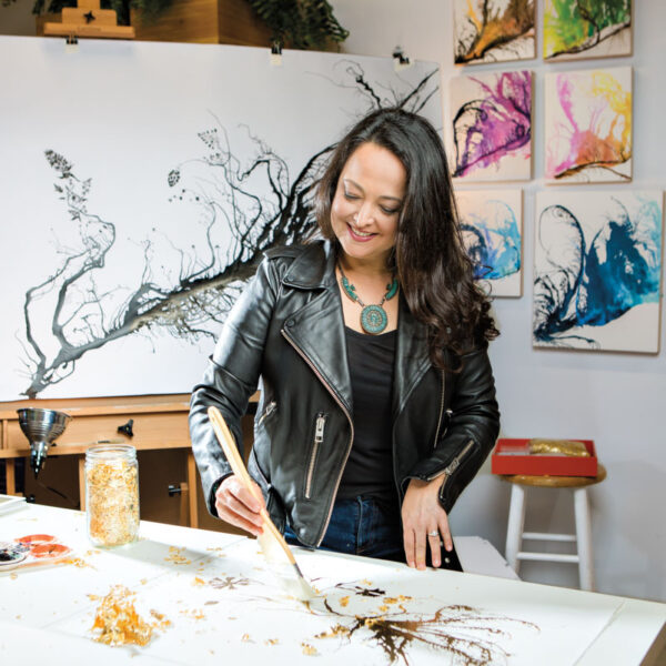 How Nature's Architecture Guides This Delray Beach Artist's Practice