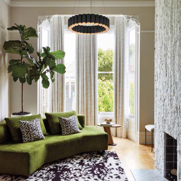 Vintage Details Pop In This SF Victorian With A Modern Attitude