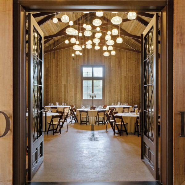 Chic Design And Fine Wine Meet In This Vineyard's New Event Space