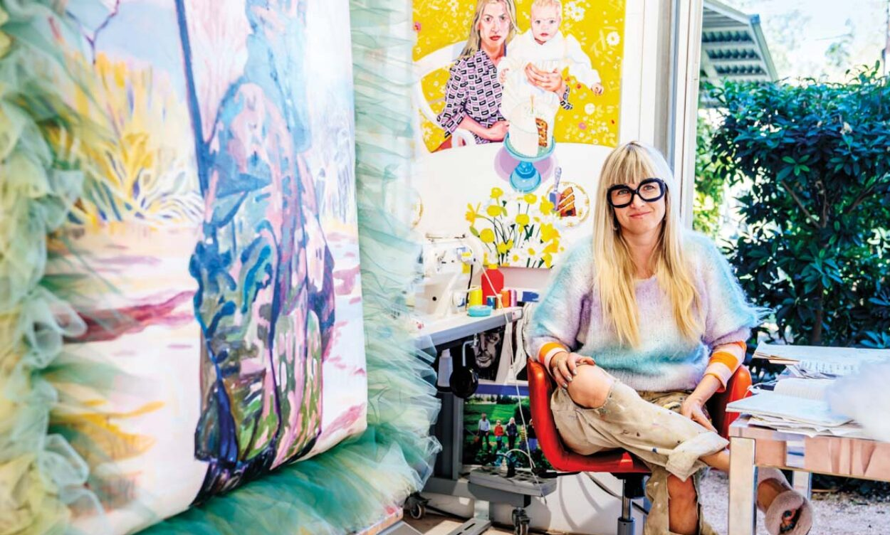 Up The Fun Factor With This Austin Artist's Far-Out Portraits