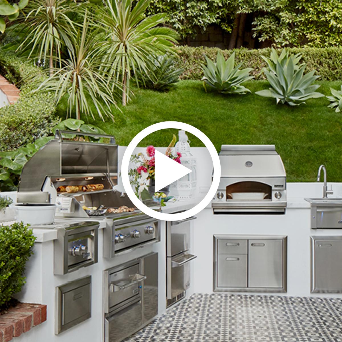 Dream Outdoor Kitchens