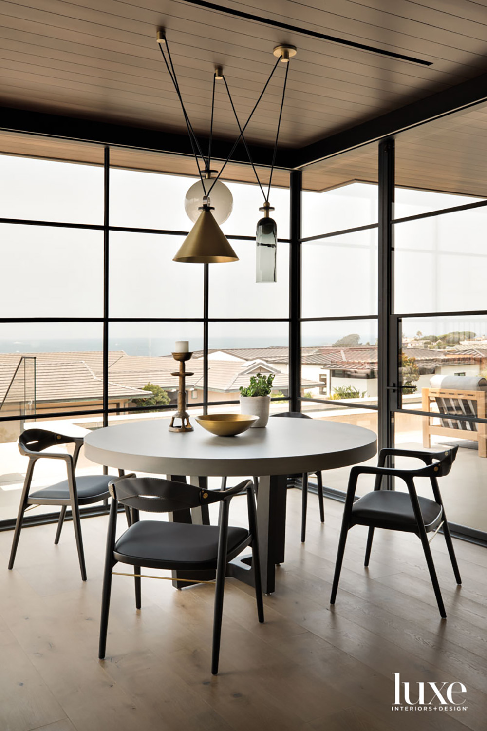 Breakfast area situated at the...