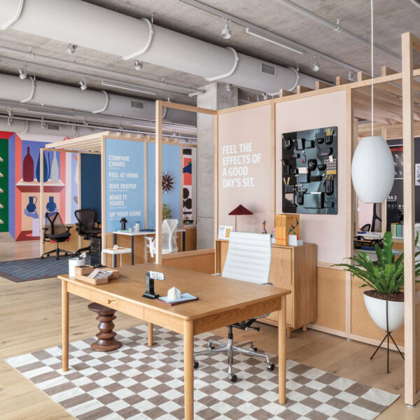 Herman Miller's New 5-Story Fulton Market Space Is A Must-See