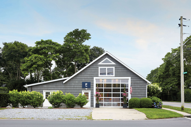 grey barn exterior