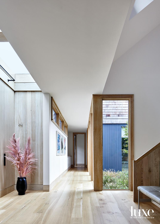 open modern hallway