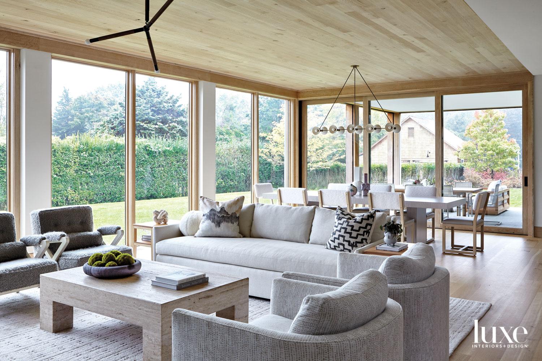 Floor to ceiling windows in...