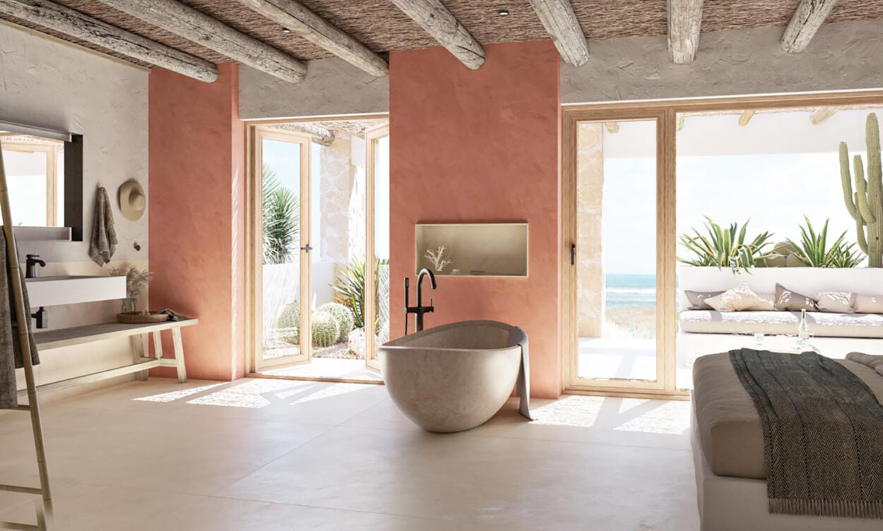 Your Elegant Bathroom Scheme Starts With These New Products