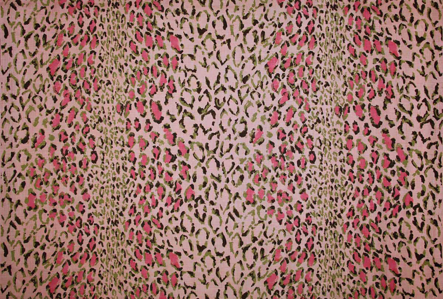 red and rose animal print fabric by rose cumming