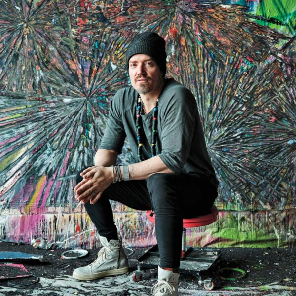 Layered Images Relay The Message In This Englewood Artist's Work
