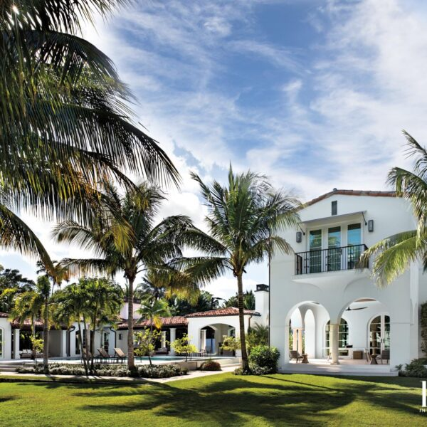 A Fresh Take On A Med-Deco Home Keeps A Bit Of Miami Beach History