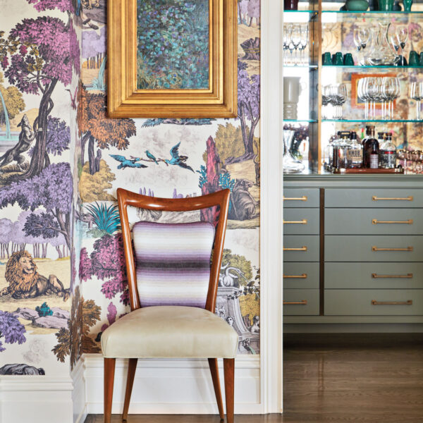 You Can't Go Wrong With Color And Pattern In This Posh NYC Duplex