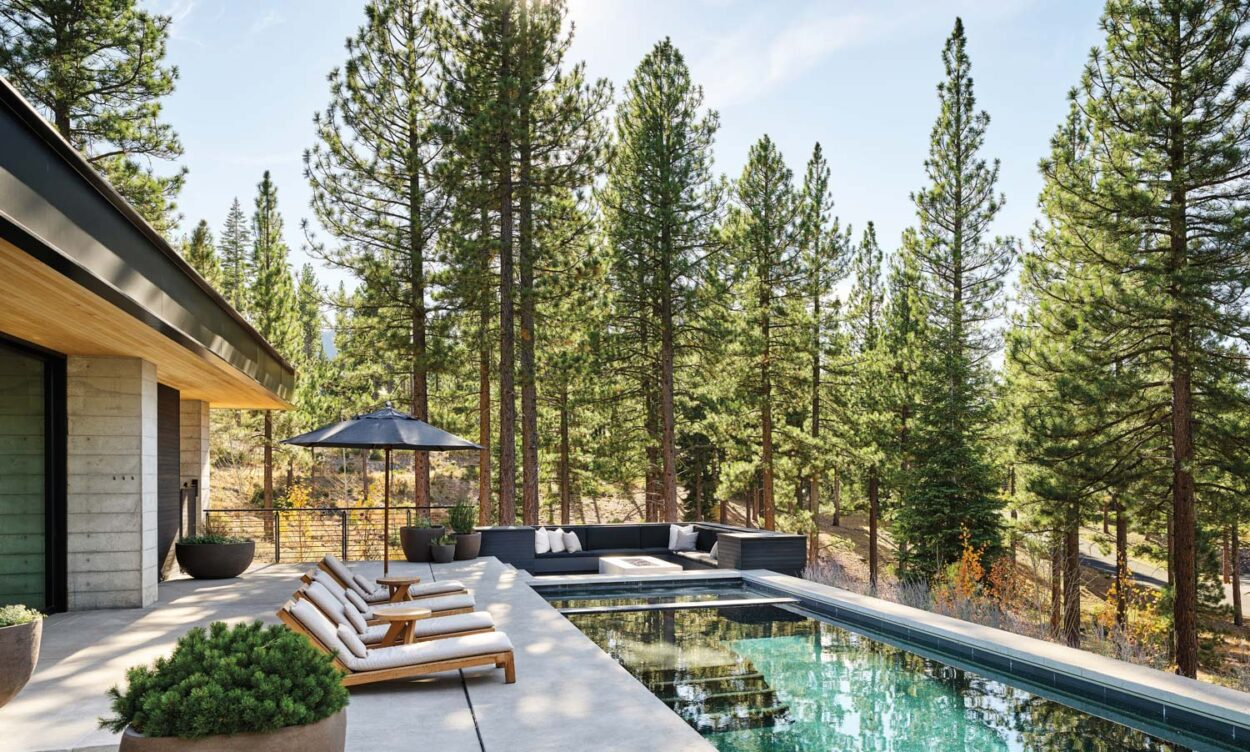 Channel The Harmonious Feeling Present At This Lake Tahoe Escape