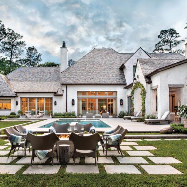 Memories Of English Gardens Inspire A Houston Designer's New Home