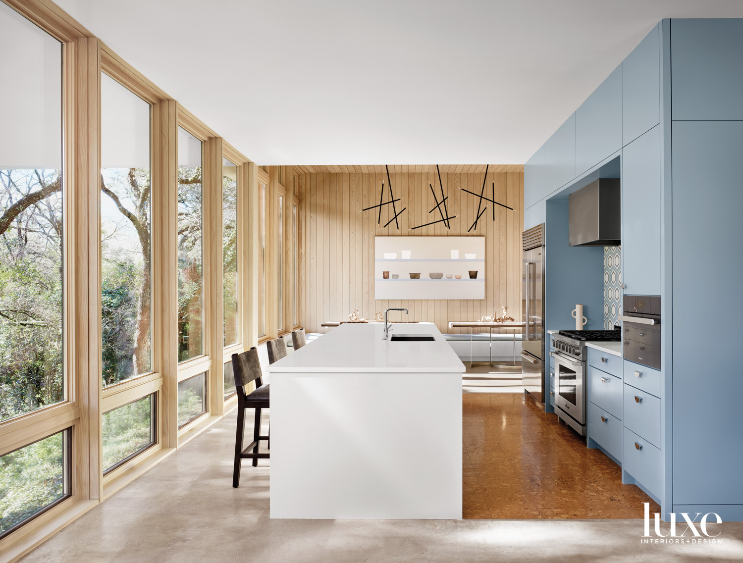 Kitchen featuring cabinetry painted Benjamin...