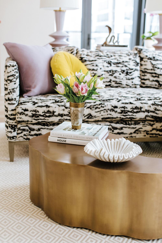Living room by Austin designer Sarah Wittenbraker