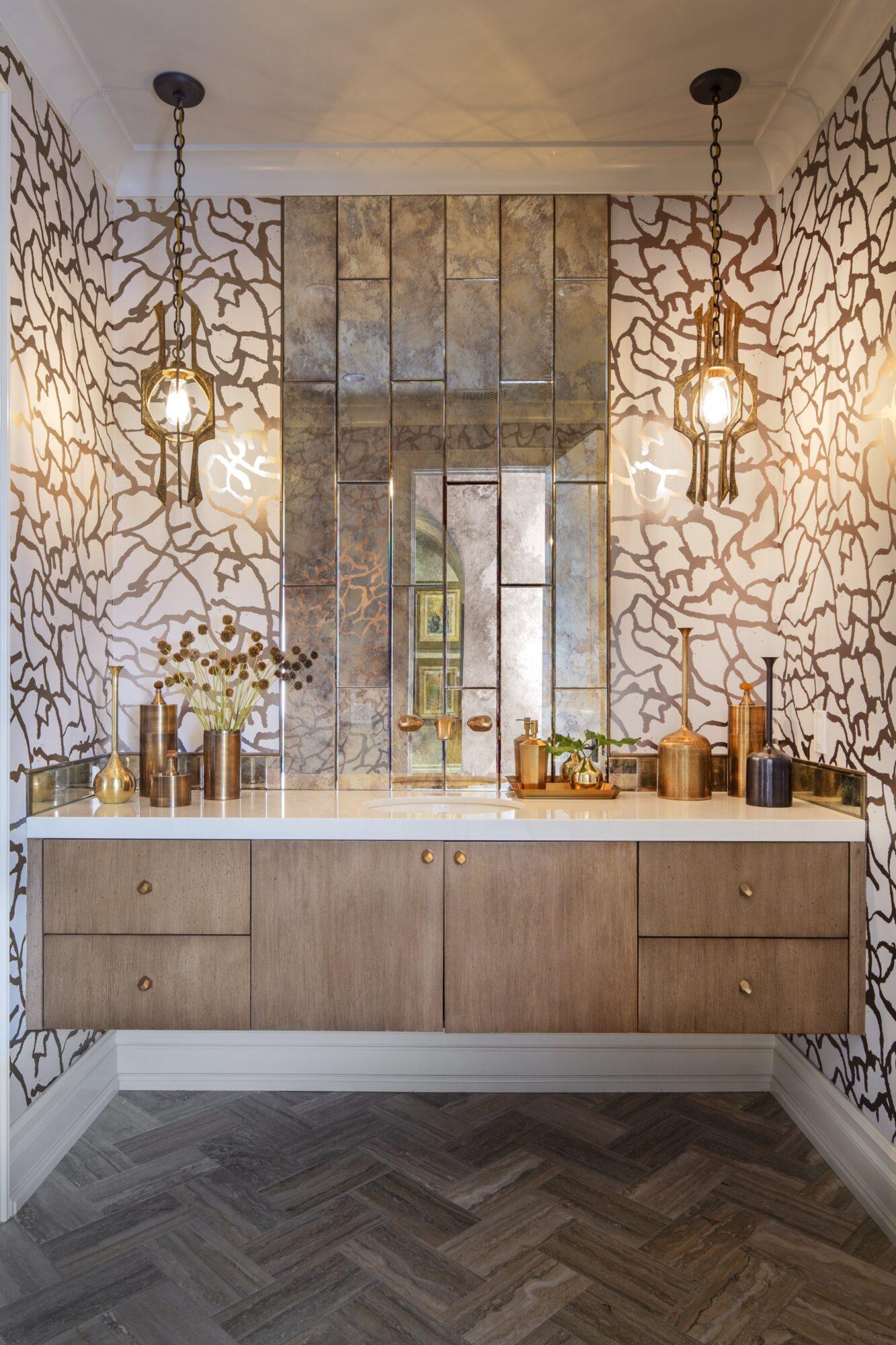 JeffAndrews Astek wallpaper powder room
