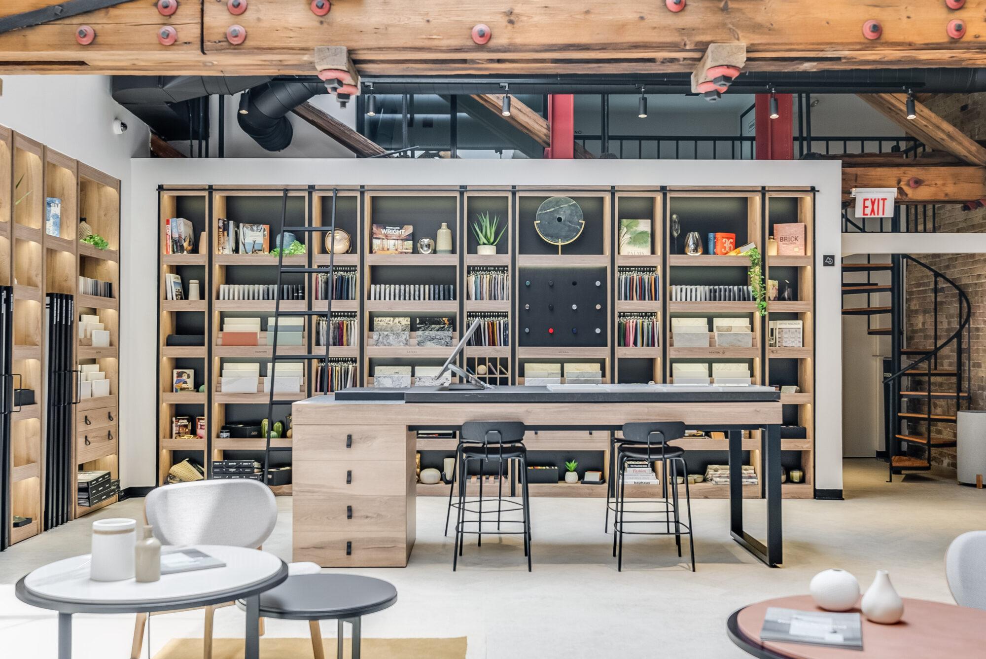 cosentino city showroom sample library